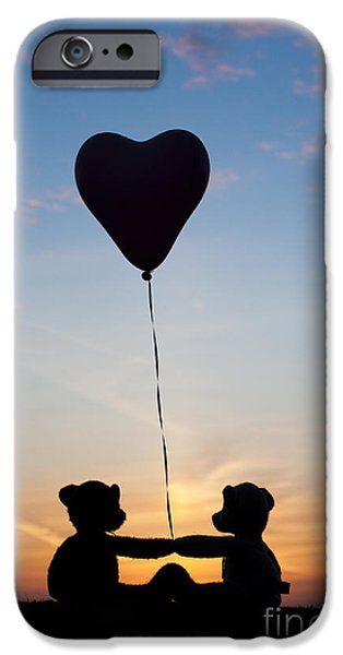 Innocence iPhone Cases - Friendship iPhone Case by Tim Gainey