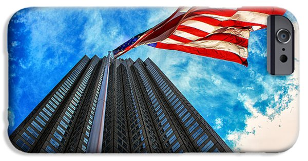 4th July Photographs iPhone Cases - From a Different Perspective II iPhone Case by Rene Triay Photography