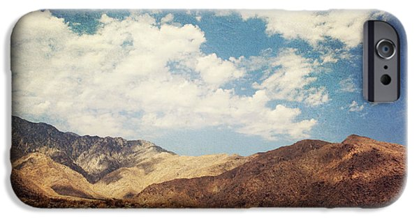 Desert Digital Art iPhone Cases - From Day to Day iPhone Case by Laurie Search