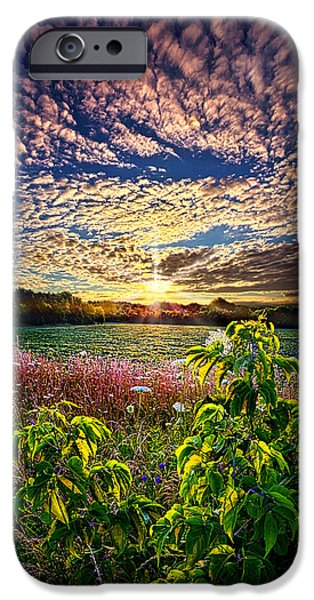 Farming Photographs iPhone Cases - From Here To Eternity iPhone Case by Phil Koch