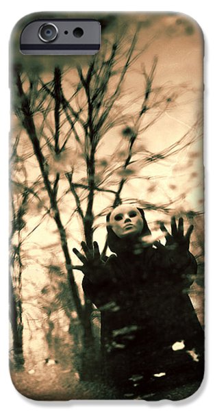 Creepy iPhone Cases - From inner dream iPhone Case by Joanna Jankowska