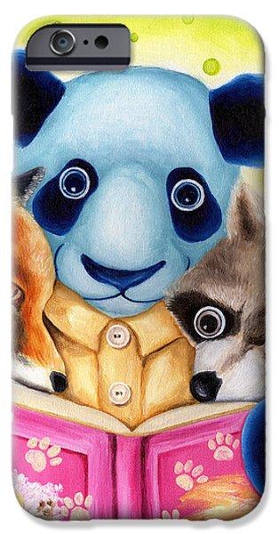 From Okin the Panda illustration 10 iPhone Case by Hiroko Sakai