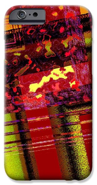 From Red to Brown Tones iPhone Case by Mario  Perez
