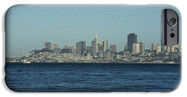 Sausalito iPhone Cases - From Sausalito iPhone Case by David Bearden