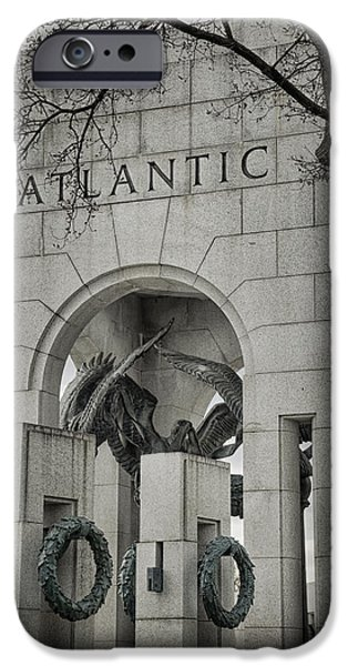 Freedom iPhone Cases - From the Atlantic iPhone Case by Joan Carroll