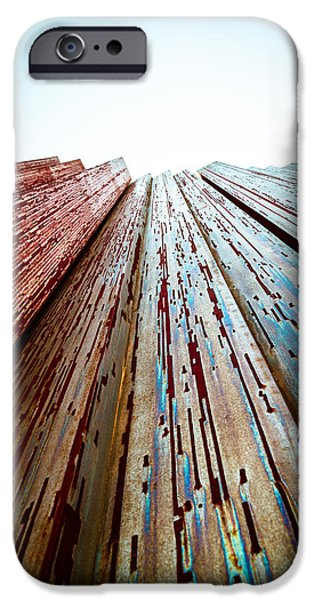 Tallest Columns World iPhone Cases - From the Future iPhone Case by Ovidiu Rimboaca