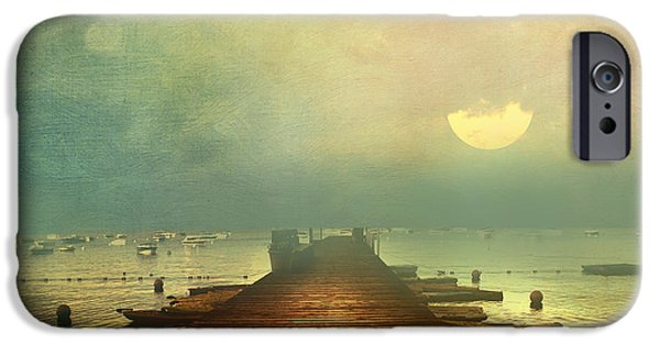 Romanovna iPhone Cases - From The Moon To The Mist iPhone Case by Georgiana Romanovna