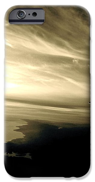 From the Plane iPhone Case by Gwyn Newcombe