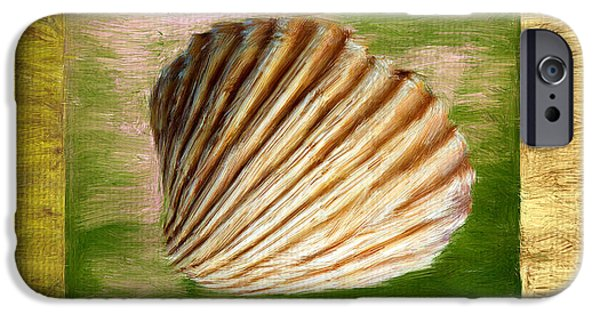 Coastal Decor Digital iPhone Cases - From The Sea iPhone Case by Lourry Legarde