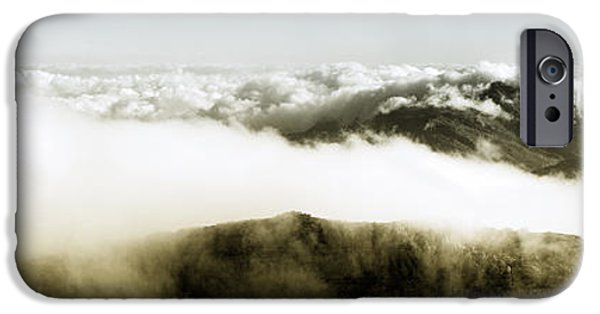 Cape Town iPhone Cases - From the top of Table Mountain iPhone Case by Fabrizio Troiani