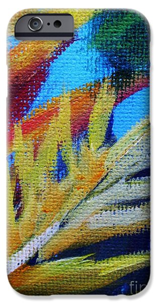 Vivid iPhone Cases - Fronds iPhone Case by John Clark