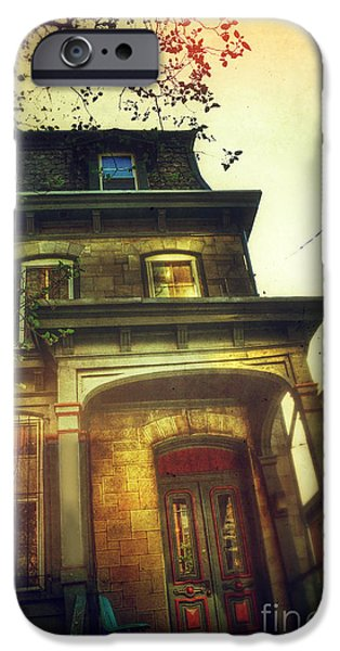 Front of Old House iPhone Case by Jill Battaglia