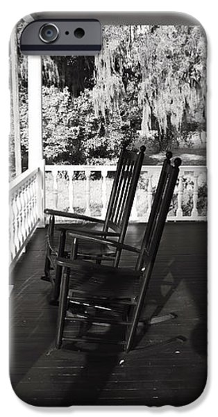 Front Porch Chairs iPhone Case by John Rizzuto
