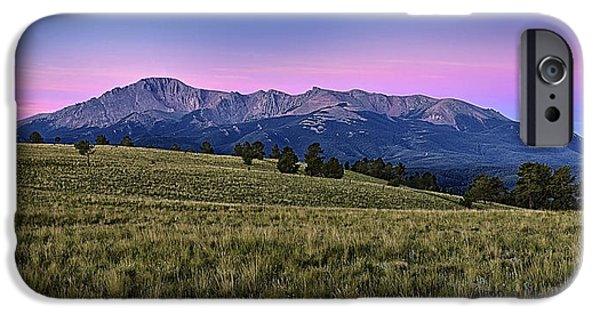 Front Range iPhone Cases - Front Range First Light iPhone Case by Thomas Zimmerman