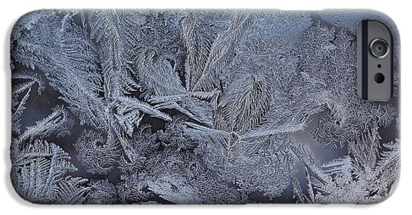 Asymmetrical iPhone Cases - Frost Dreams iPhone Case by James Levasseur