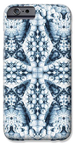 Frost Scope 01 iPhone Case by Roseann Caputo