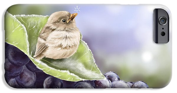 Baby Bird iPhone Cases - Frost iPhone Case by Veronica Minozzi