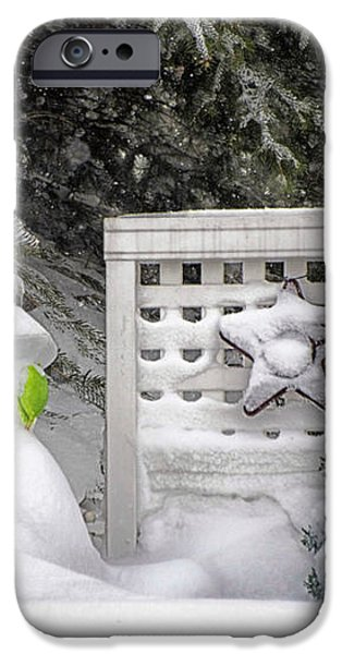 Frosty The Snow Man iPhone Case by Thomas Woolworth