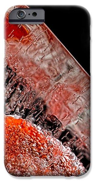Frozen Balls iPhone Case by Bob Orsillo