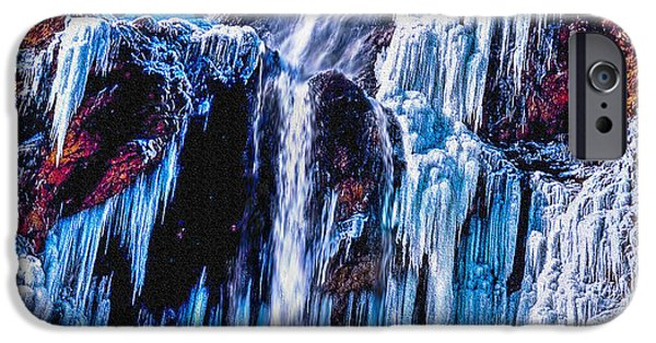 Oak Creek iPhone Cases - Frozen in Motion iPhone Case by  Bob and Nadine Johnston