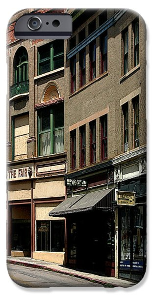 Store Fronts iPhone Cases - Frozen in Time iPhone Case by Joe Kozlowski