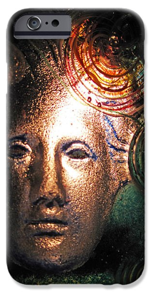 Greek Art iPhone Cases - Frozen in Time iPhone Case by Michael Durst