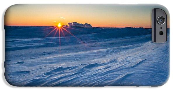 35mm iPhone Cases - Frozen Lake Minnewaska iPhone Case by Aaron J Groen