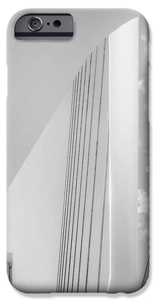 Fine Art Abstract iPhone Cases - Frozen Music iPhone Case by Scott Norris