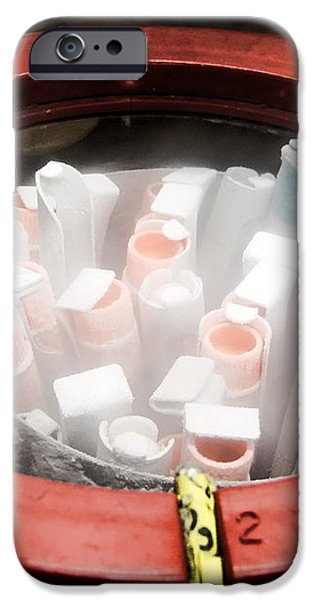 Frozen iPhone Case by Olivier Le Queinec