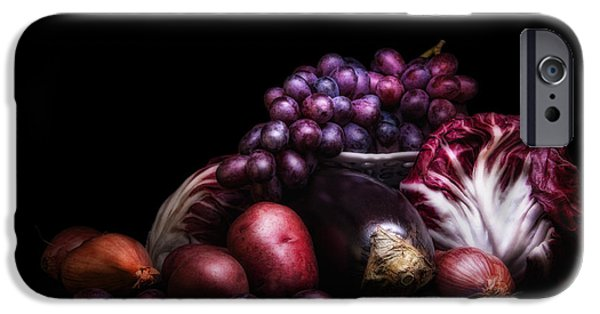 Eating iPhone Cases - Fruit and Vegetables Still Life iPhone Case by Tom Mc Nemar