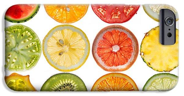 Lemon Drops iPhone Cases - Fruit Market iPhone Case by Steve Gadomski