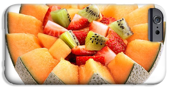 Sectioned iPhone Cases - Fruit salad iPhone Case by Johan Swanepoel
