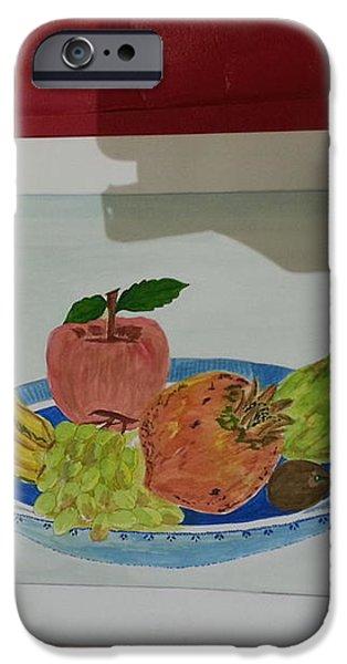 Fruit trey iPhone Case by Ramroop Yadav