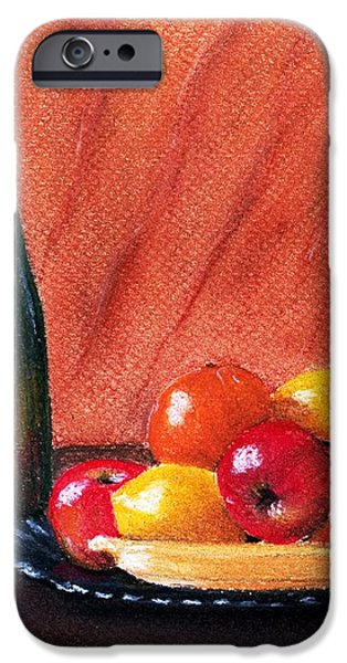 Fruits and Wine iPhone Case by Anastasiya Malakhova