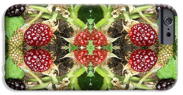 Abstract Expressionism Photographs iPhone Cases - Fruity iPhone Case by Patrick J Murphy