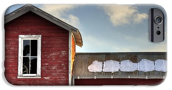 Ft. Collins iPhone Cases - Ft Collins Barn 13493 iPhone Case by Jerry Sodorff