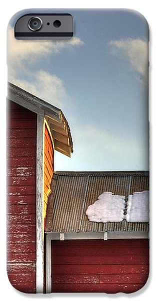 Ft Collins Barn 13493 iPhone Case by Jerry Sodorff