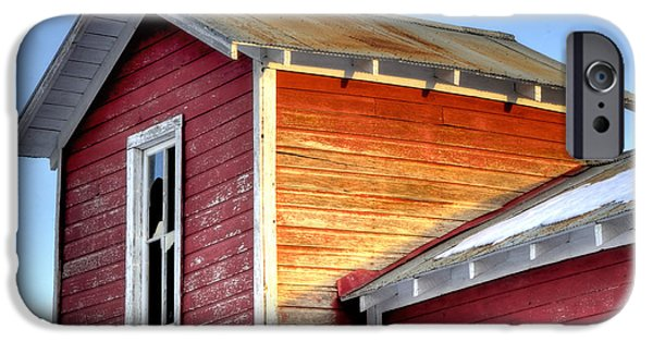 Ft. Collins iPhone Cases - Ft Collins Barn 13502 iPhone Case by Jerry Sodorff