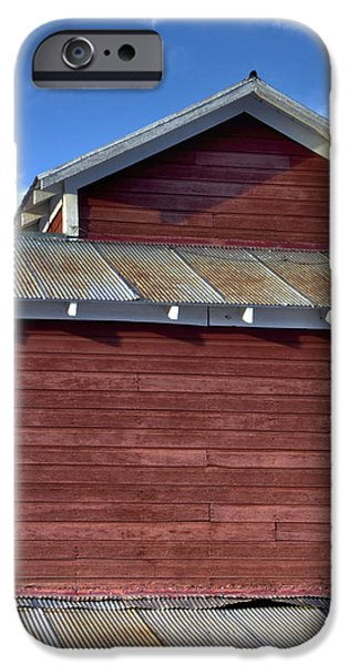 Ft. Collins iPhone Cases - Ft Collins Barn 13550 iPhone Case by Jerry Sodorff