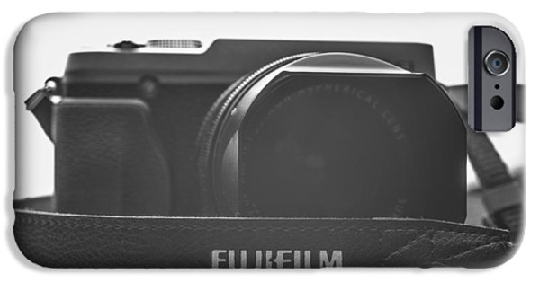 Aperture Photographs iPhone Cases - FujiFilm XE1 Black iPhone Case by David Haskett