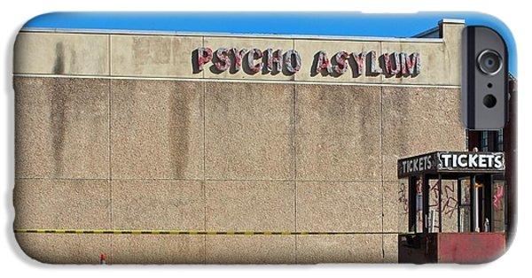 Psychiatric iPhone Cases - Full House iPhone Case by Joe Jake Pratt