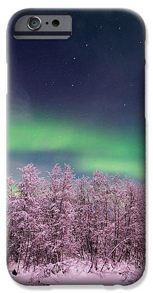 full moon lights iPhone Case by Priska Wettstein