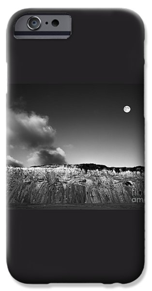 Full Moon Over Cape Cod iPhone Case by Diane Diederich