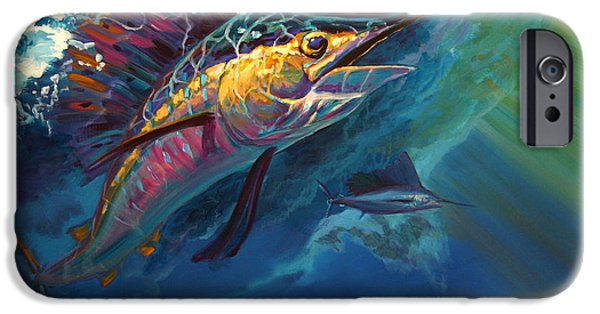 Marine iPhone Cases - Full Sail iPhone Case by Savlen Art
