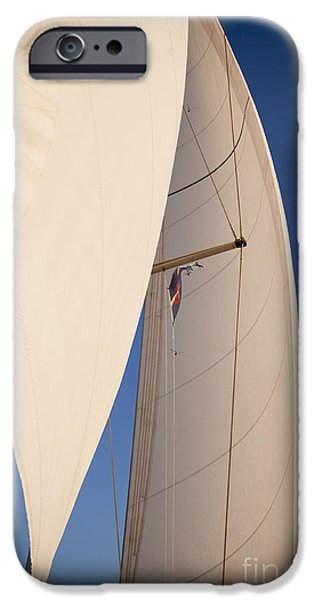 Sailing iPhone Cases - Full Sails iPhone Case by Dustin K Ryan