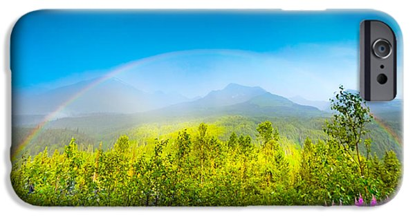 Built Structure iPhone Cases - Full Spectrum Rainbow iPhone Case by Jodi Jacobson