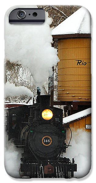 Full Steam Ahead iPhone Case by Ken Smith