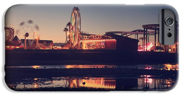 Santa Cruz Ca iPhone Cases - Fun and Games iPhone Case by Laurie Search