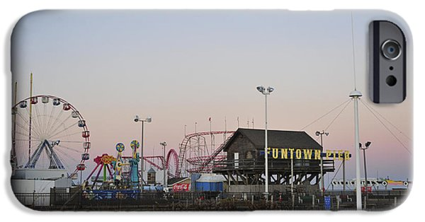 Seaside Heights iPhone Cases - Fun at the Shore Seaside Park New Jersey iPhone Case by Terry DeLuco