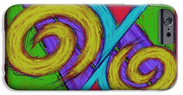 Loose Style Digital iPhone Cases - Fun shaper iPhone Case by Keith Mills